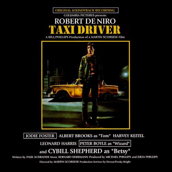 Copertina Disco Vinile 33 giri Taxi Driver [Soundtrack] di Bernard Herrmann