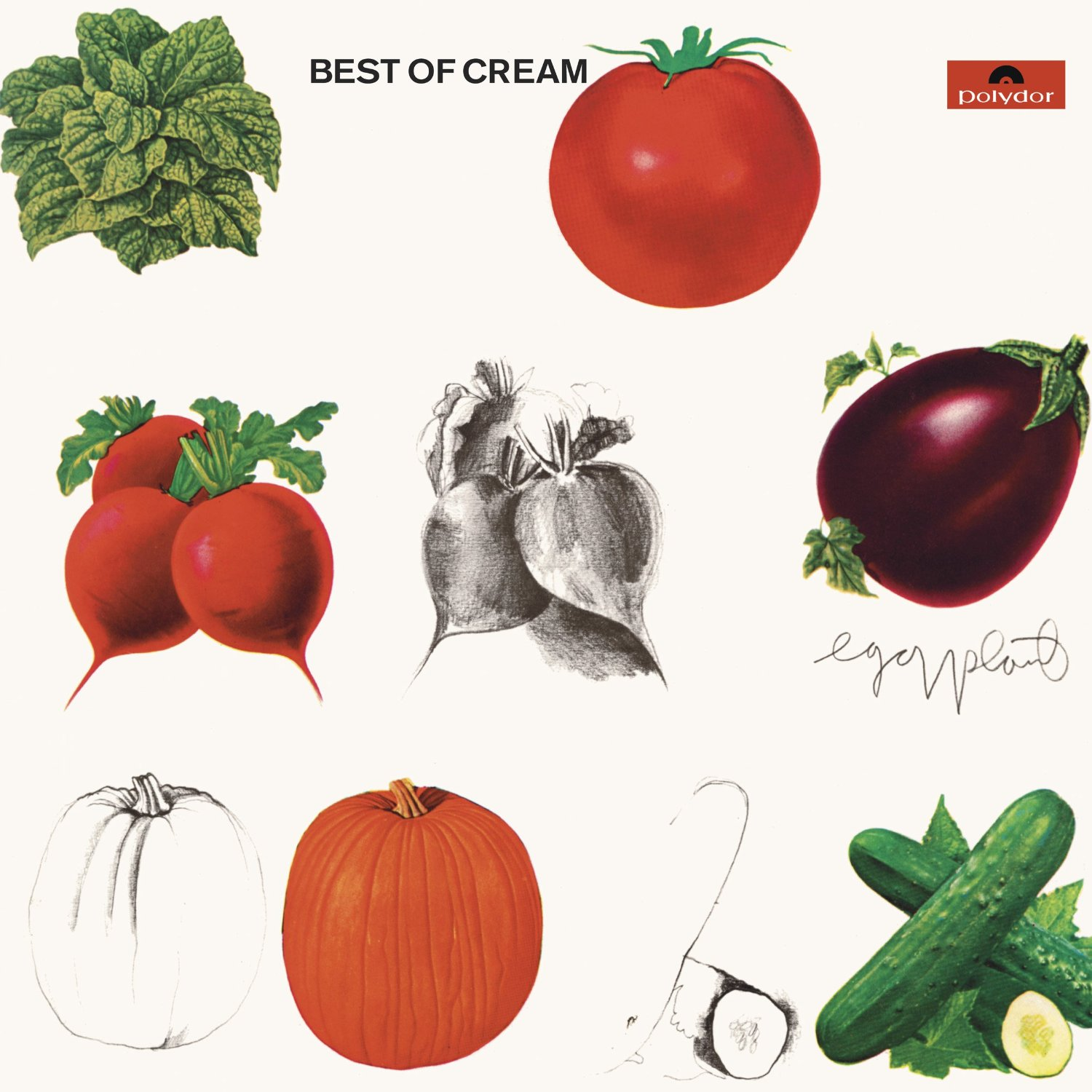 Copertina Disco Vinile 33 giri Best of Cream di Cream