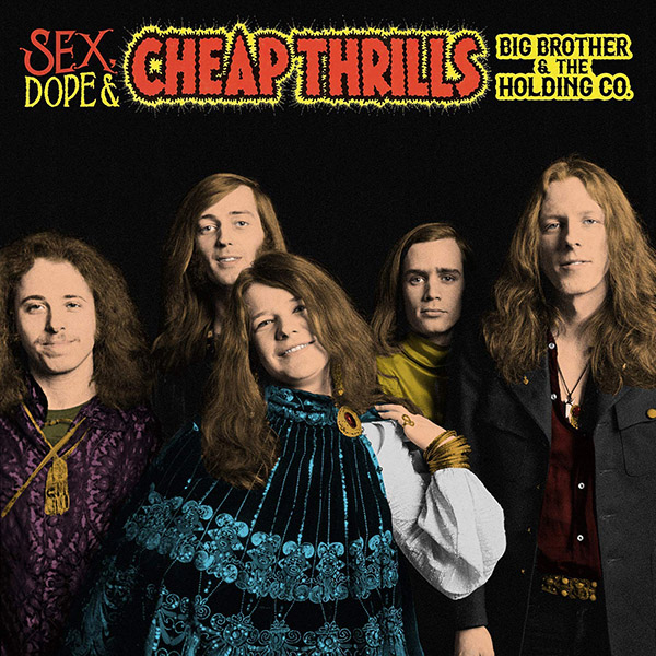Copertina Vinile 33 giri Sex, Dope & Cheap Thrills [2 LP] di Janis Joplin (Big Brother and the Holding Company)