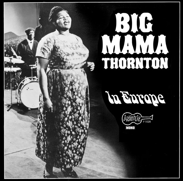 Copertina Disco Vinile 33 giri In Europe di Big Mama Thornton