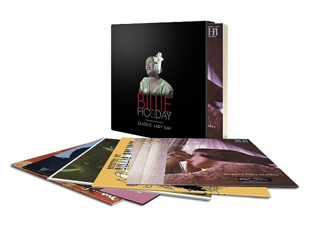 Copertina Vinile 33 giri Classic Lady Day [Cofanetto 5xLP] di Billie Holiday