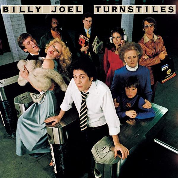 Copertina Disco Vinile 33 giri Turnstiles di Billy Joel