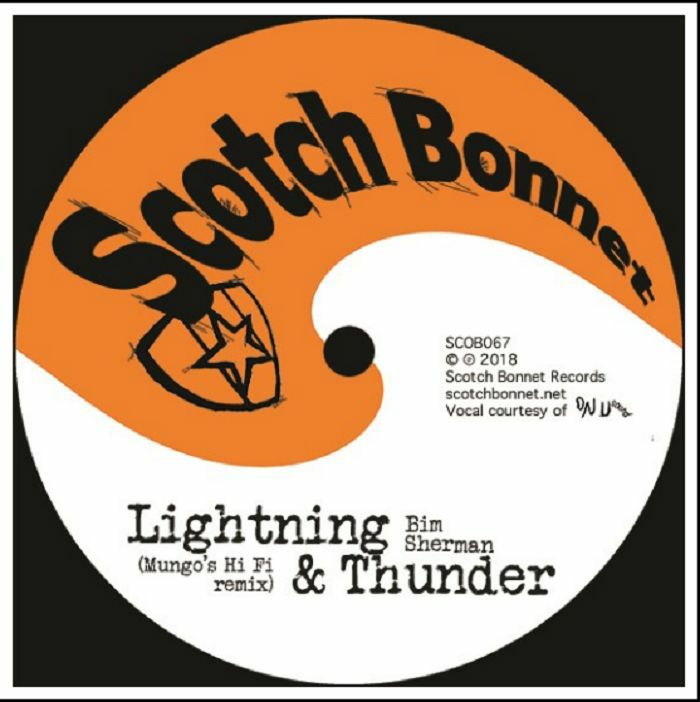 Copertina Vinile 33 giri Lightning & Thunder (Mungo's Hi Fi remix) di Bim Sherman