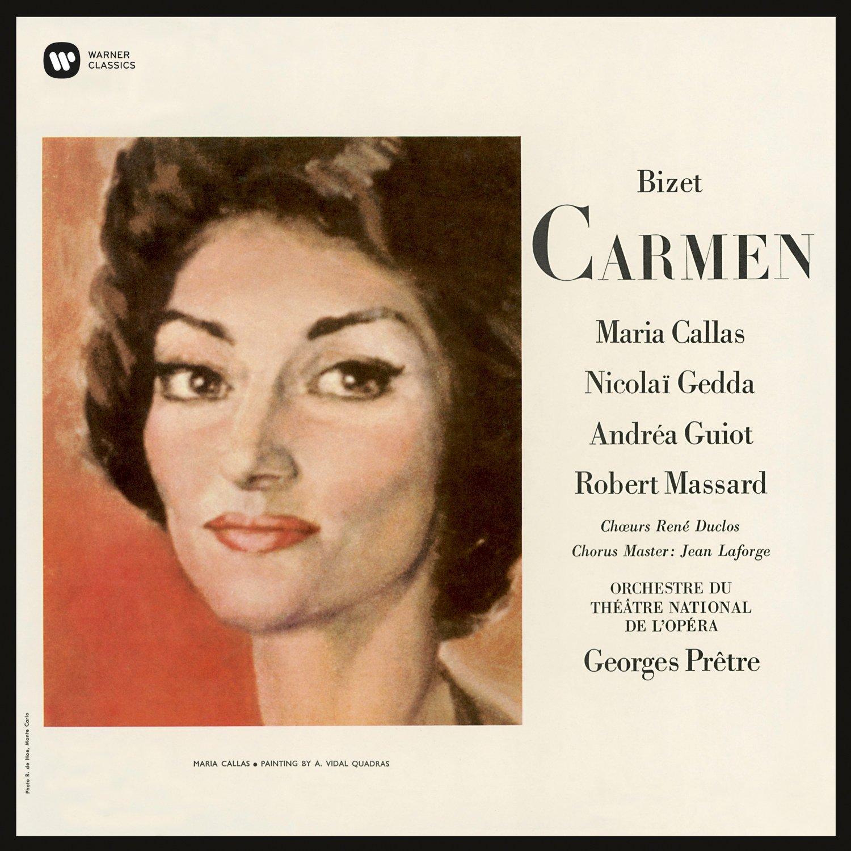 Copertina Disco Vinile 33 giri Bizet: Carmen [3 LP] di Maria Callas