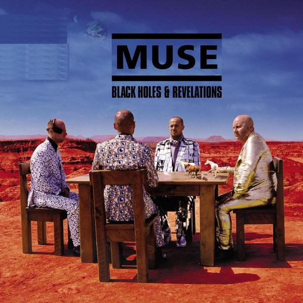 Copertina Disco Vinile 33 giri Black Holes & Revelations di Muse