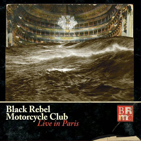 Copertina Disco Vinile 33 giri Live in Paris [4 LP] di Black Rebel Motorcycle Club
