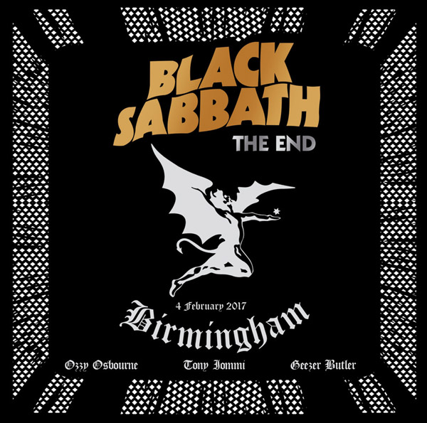 Copertina Vinile 33 giri The End: Live in Birmingham [3 LP] di Black Sabbath