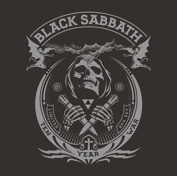 Copertina Vinile 33 giri The Ten Year War [Cofanetto 8LP + 2x45 Giri] di Black Sabbath