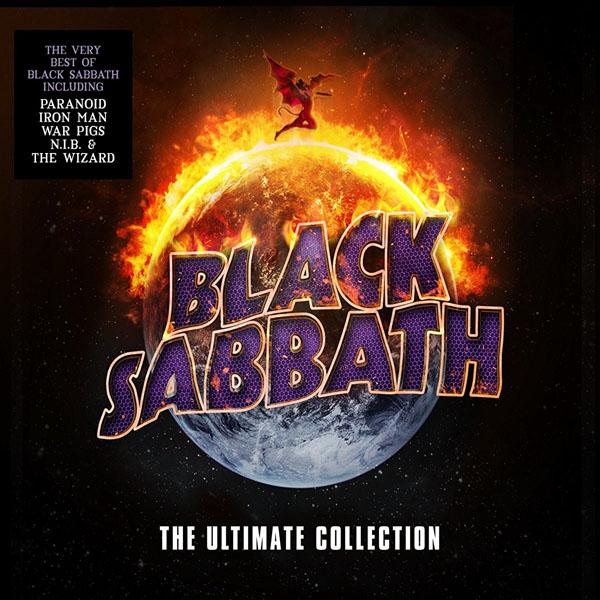 Copertina Disco Vinile 33 giri The Ultimate Collection [4 LP] di Black Sabbath