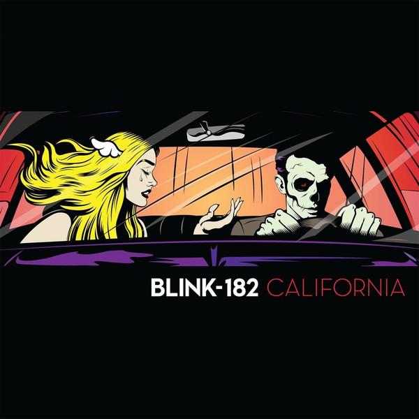 Copertina Disco Vinile 33 giri California di Blink-182