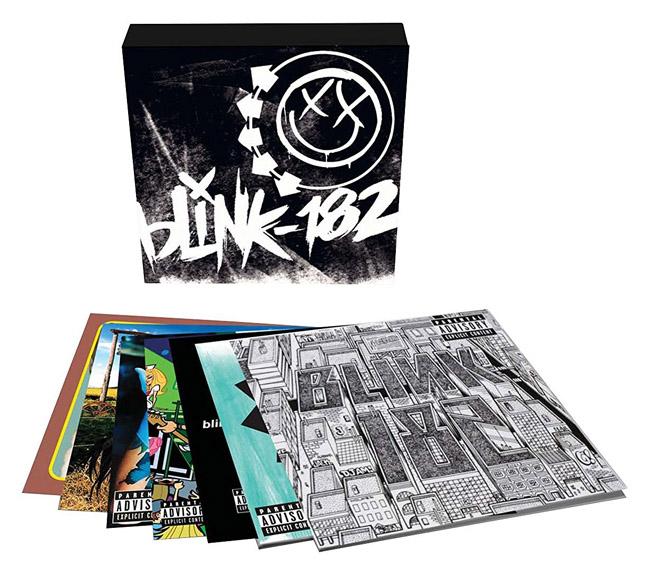 Copertina Disco Vinile 33 giri Blink-182 Vinyl Box Set [Cofanetto 10xLP] di Blink-182