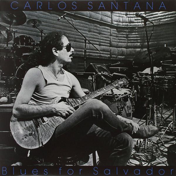 Copertina Disco Vinile 33 giri Blues for Salvador di Santana