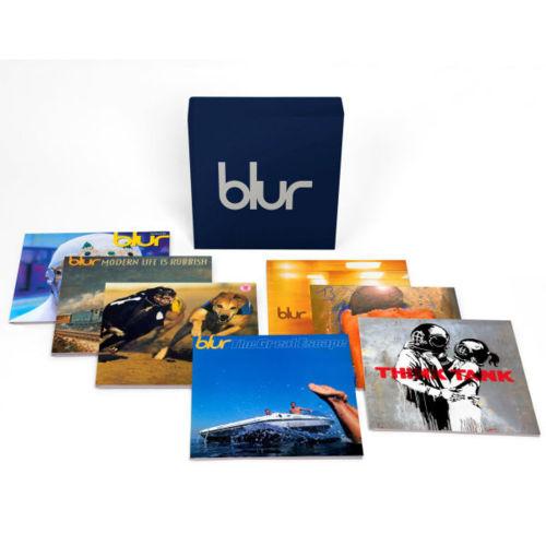 Copertina Disco Vinile 33 giri Blur 21: The Vinyl Box [Cofanetto 13xLP] di Blur