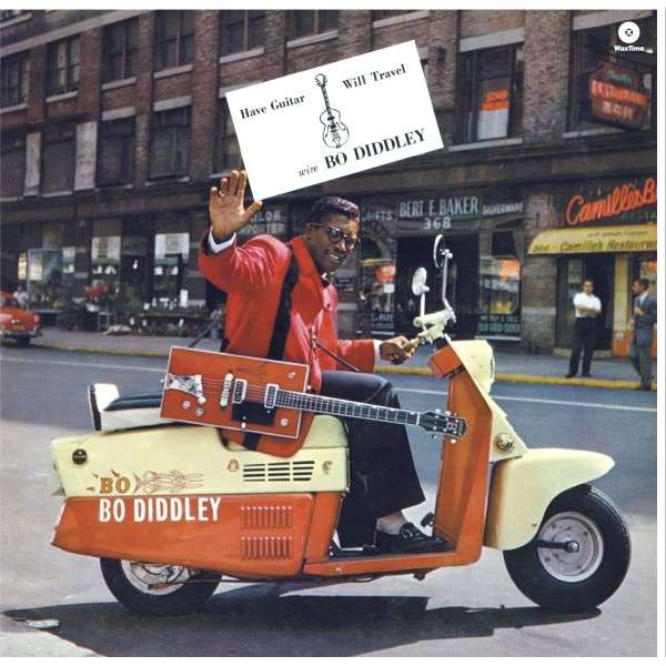 Copertina Disco Vinile 33 giri Have Guitar Will Travel di Bo Diddley