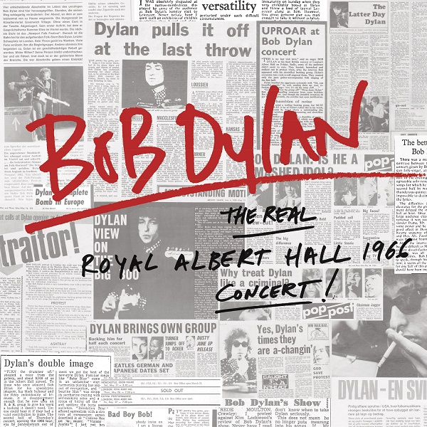 Copertina Disco Vinile 33 giri The Real Royal Albert Hall 1966 Concert [2 LP] di Bob Dylan