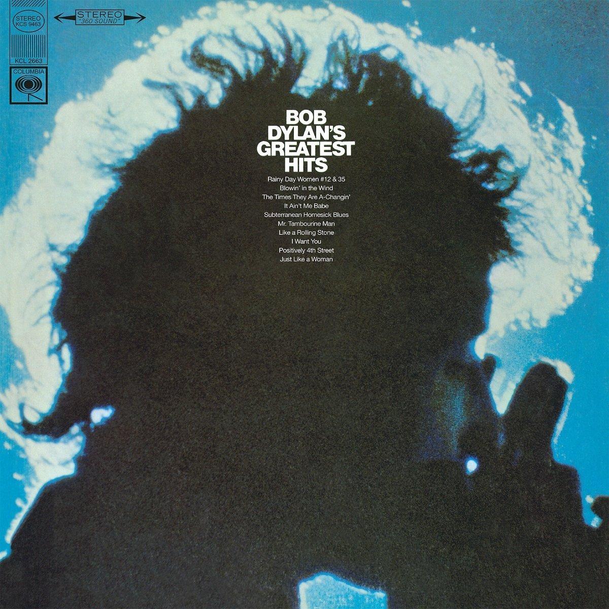 Copertina Disco Vinile 33 giri Bob Dylan's Greatest Hits di Bob Dylan