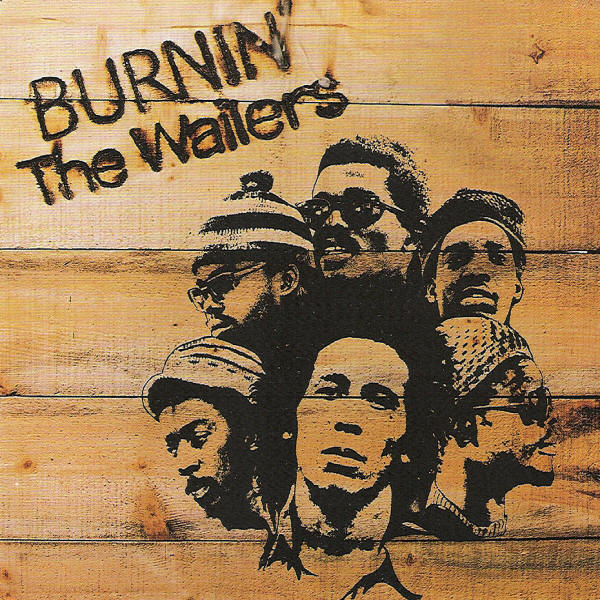 Copertina Disco Vinile 33 giri Burnin' di Bob Marley and The Wailers