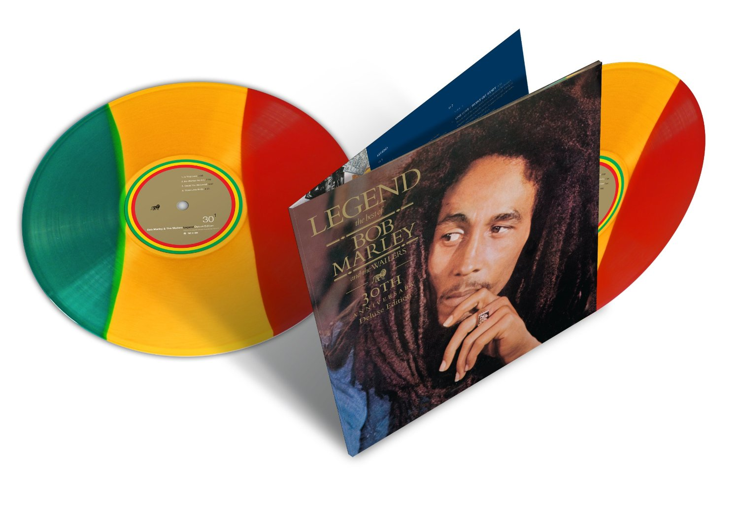 Copertina Disco Vinile 33 giri Legend 30° Anniversario [2 LP] di Bob Marley and The Wailers