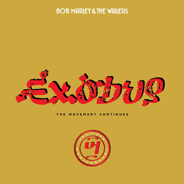 Copertina Vinile 33 giri Exodus 40 - The Movement Continues di Bob Marley & The Wailers