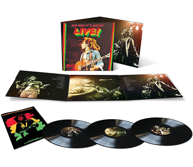 Copertina Disco Vinile 33 giri Live! [Deluxe 3xLP] di Bob Marley and The Wailers