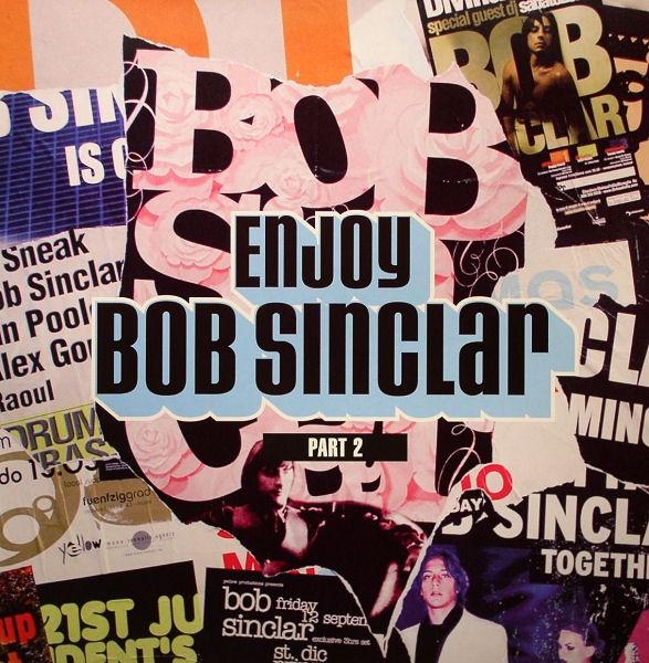 Copertina Disco Vinile 33 giri Enjoy (Pt. 2) [2 LP] di Bob Sinclar