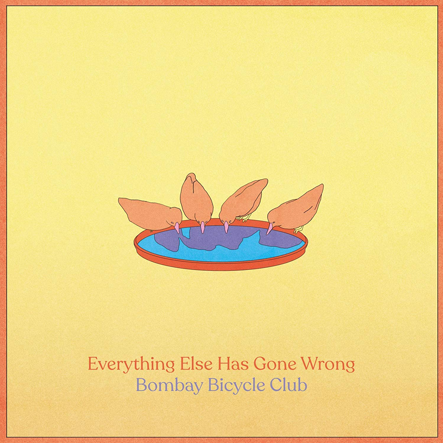 Copertina Vinile 33 giri Everything Else Has Gone Wrong di Bombay Bicycle Club