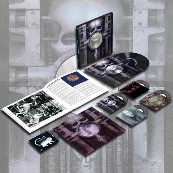Copertina Disco Vinile 33 giri Brain Salad Surgery [Cofanetto 4CD LP DVD] di Emerson, Lake & Palmer