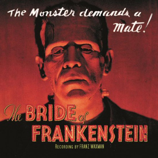 Copertina Disco Vinile 33 giri The Bride of Frankenstein [Soundtrack]