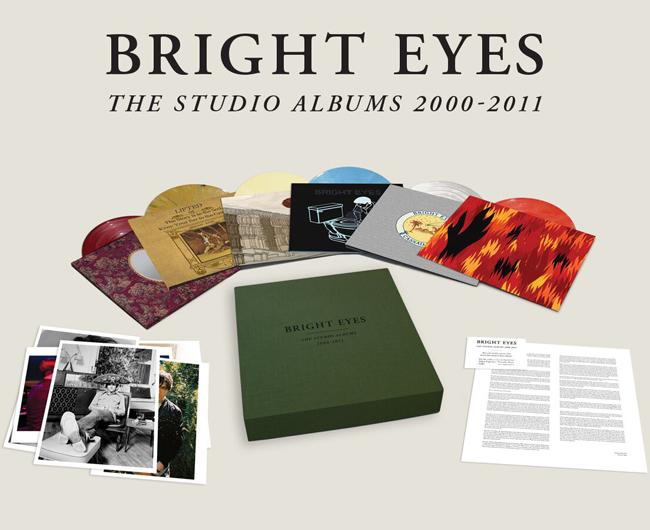 Copertina Disco Vinile 33 giri The Studio Albums 2000-2011 [Cofanetto 10xLP] di Bright Eyes