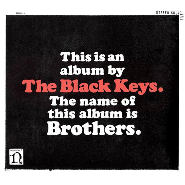 Copertina Disco Vinile 33 giri Brothers [2 LP + Poster] di The Black Keys