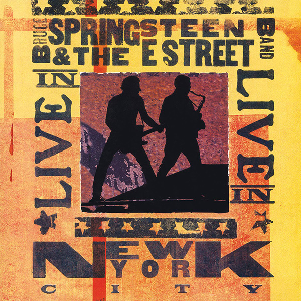 Copertina Vinile 33 giri Live in New York City [3 LP]  di Bruce Springsteen