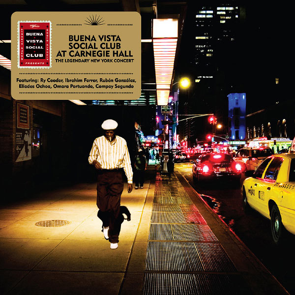Copertina Disco Vinile 33 giri At Carnegie Hall [2 LP] di Buena Vista Social Club