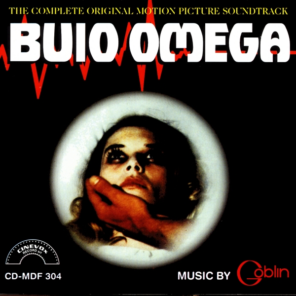 Copertina Disco Vinile 33 giri Buio Omega [Soundtrack] di Goblin