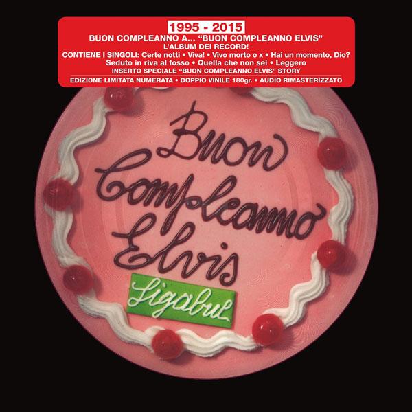 Copertina Disco Vinile 33 giri Buon compleanno Elvis [2 LP] di Ligabue