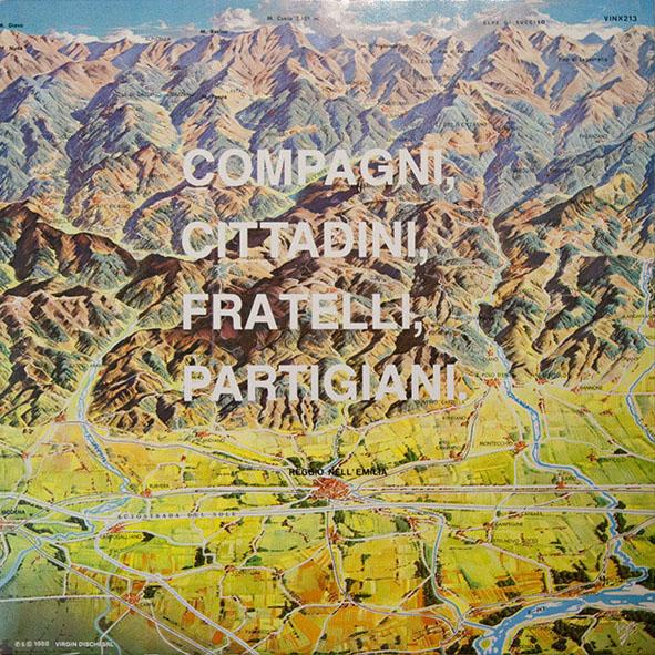 Copertina Disco Vinile 33 giri Compagni, Cittadini, Fratelli, Partigiani.  di CCCP Fedeli alla Linea