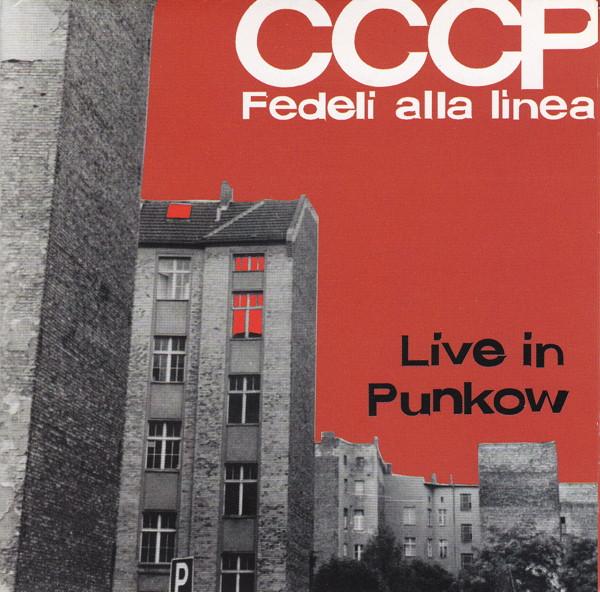 Copertina Disco Vinile 33 giri Live in Punkow  di CCCP Fedeli alla Linea