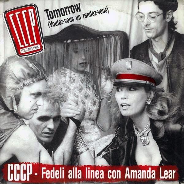 Copertina Disco Vinile 33 giri Tomorrow [Singolo 45 Giri] di CCCP Fedeli Alla Linea