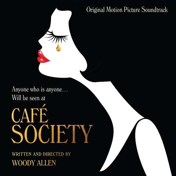 Copertina Disco Vinile 33 giri Café Society [Soundtrack LP] di Vari Artisti