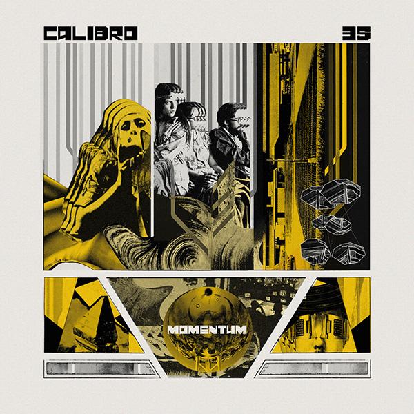 Copertina Vinile 33 giri Momentum di Calibro 35