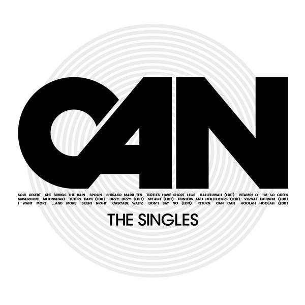 Copertina Vinile 33 giri The Singles [3 LP] di Can