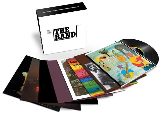 Copertina Disco Vinile 33 giri Capitol Albums 1968-1977 [Cofanetto 9xLP] di The Band