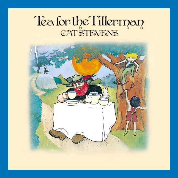 Copertina Disco Vinile 33 giri Tea for the Tillerman di Cat Stevens