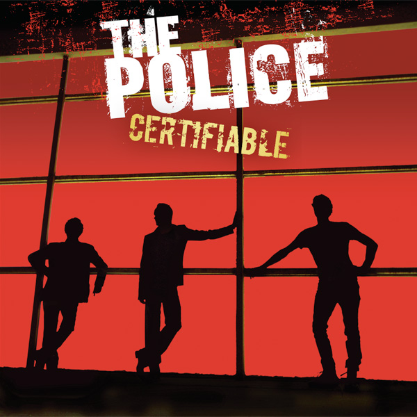 Copertina Disco Vinile 33 giri Certifiable [3 LP] di The Police