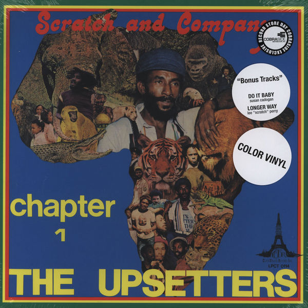 "Copertina Disco Vinile 33 giri Chapter 1 [3xLP 10""] di The Upsetters"