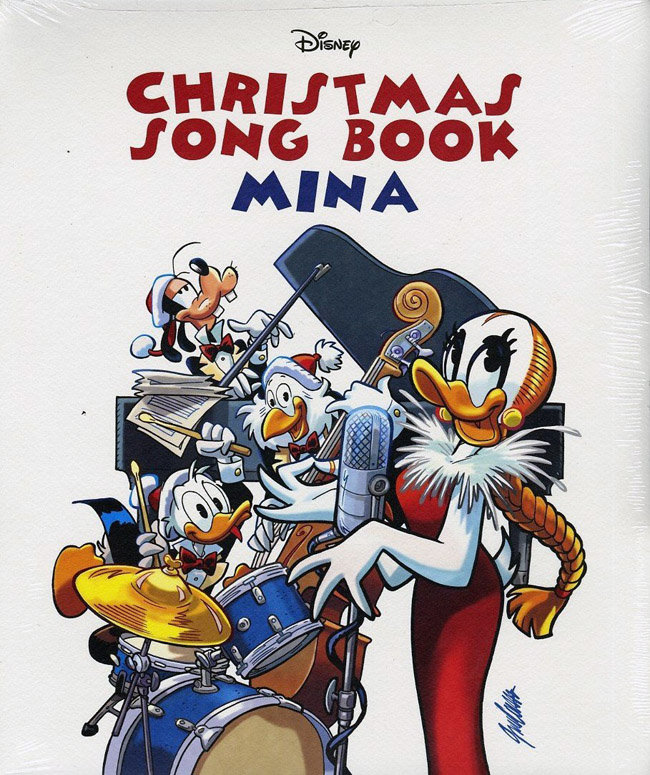 Copertina Disco Vinile 33 giri Christmas Song Book [Box Deluxe] di Mina