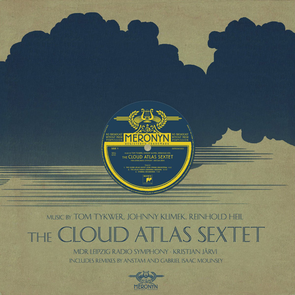 Copertina Disco Vinile 33 giri The Cloud Atlas Sextet [LP Soundtrack]