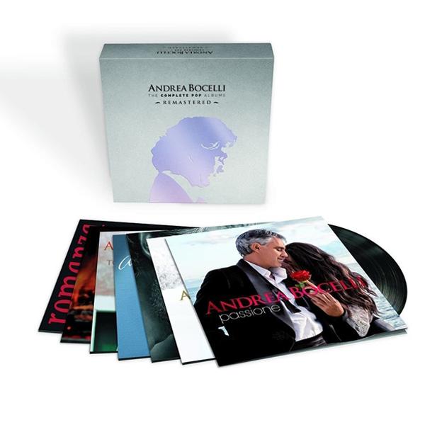 Copertina Disco Vinile 33 giri The Complete Pop Albums [Cofanetto 14xLP] di Andrea Bocelli