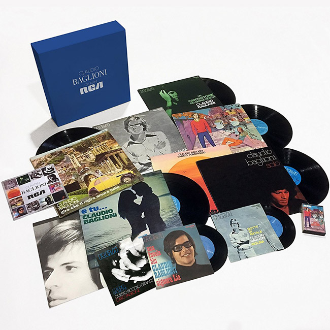 Copertina Disco Vinile 33 giri Claudio Baglioni | Gli Anni RCA  di Claudio Baglioni