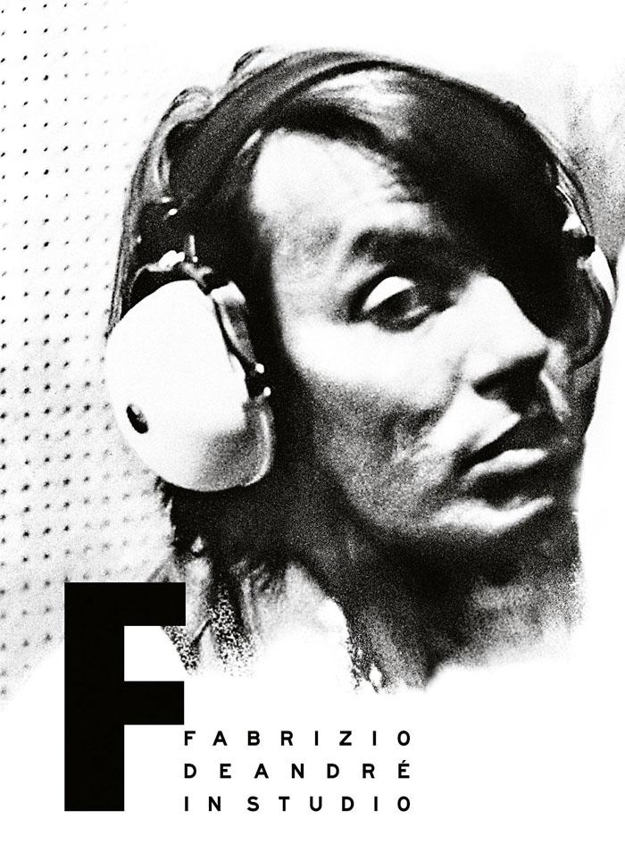 Copertina Disco Vinile 33 giri Fabrizio De André In Studio  di Fabrizio De Andrè