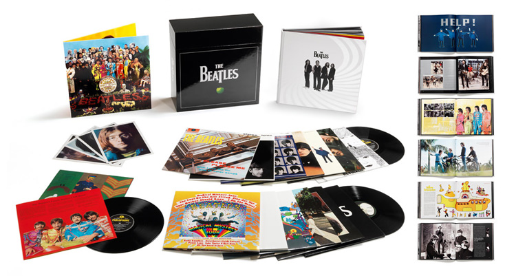 Copertina Disco Vinile 33 giri The Beatles Stereo Boxset [Cofanetto 16xLP] di The Beatles